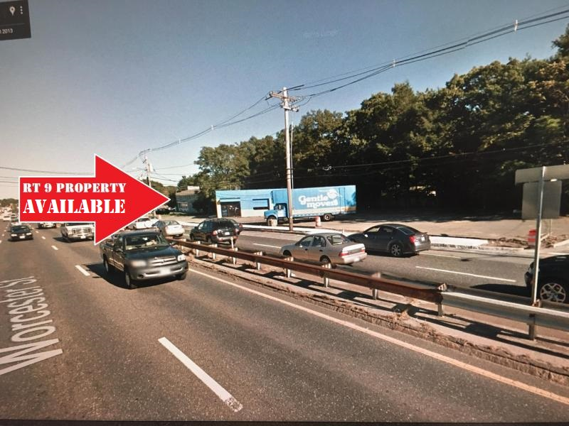 Commercial building on rt 9 for rent lease sale natick framingham wellesley ma